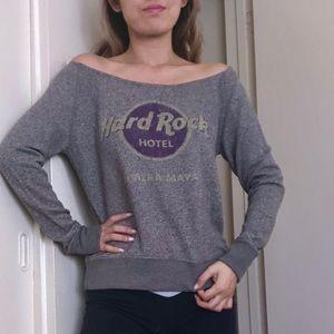 🎀Hard rock hotel sweatshirt gray